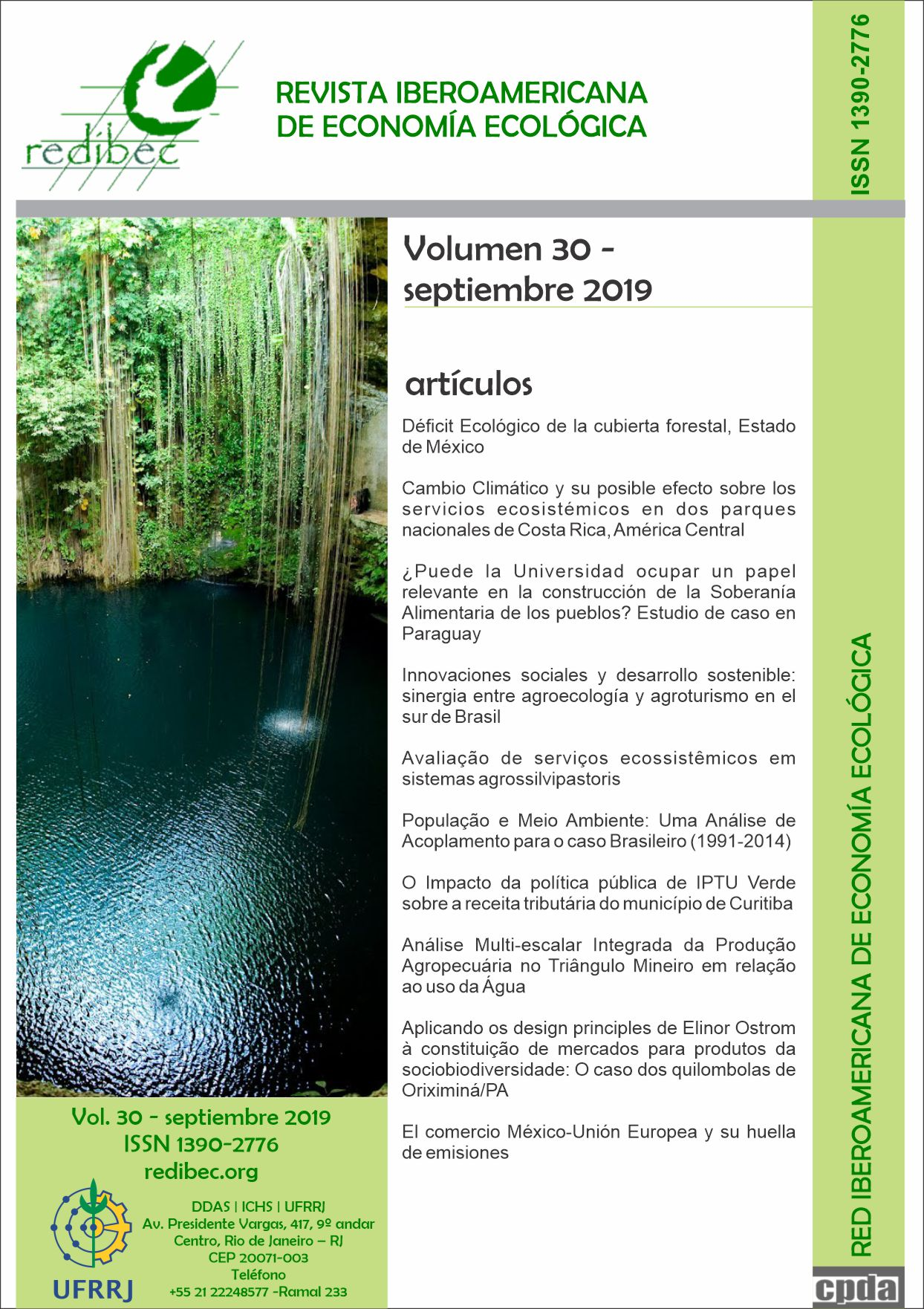 Capa do Volume 30