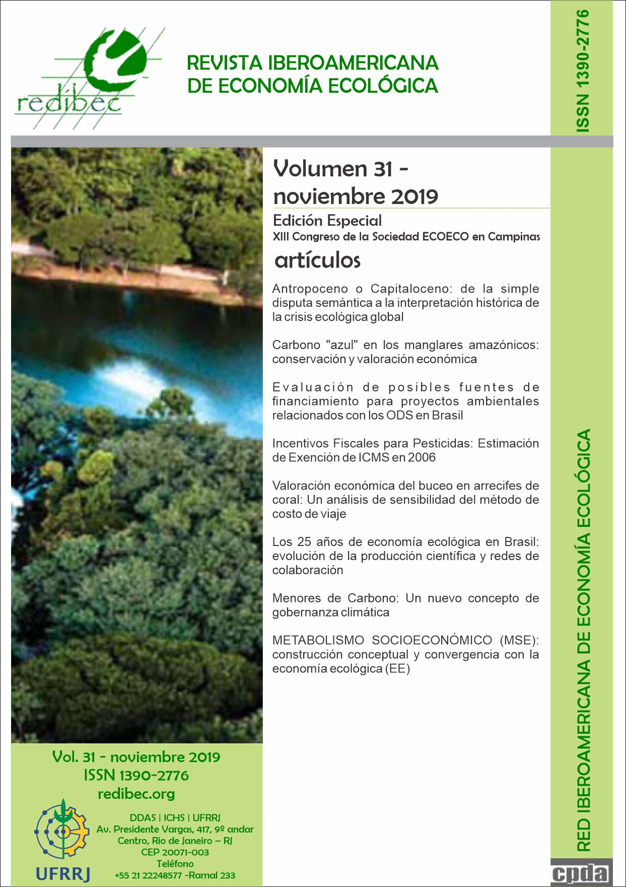 Capa do Volume 31